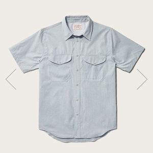 FILSON TWIN LAKES MEN'S SHORT SLEEVE SPORT SHIRT